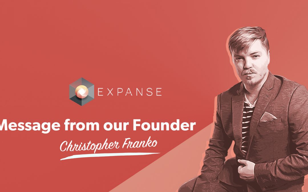 Message from our Founder, Christopher Franko