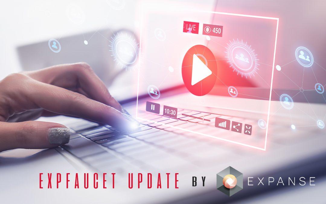 ExpFaucet Update