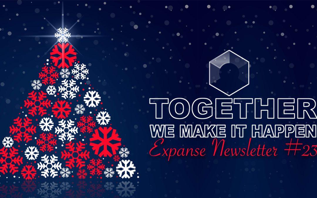 EXPANSE NEWSLETTER Vol. 3, No. 23 – 12/15/2018